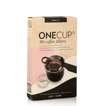 ONE💚CUP 60 COFFEE FILTERS